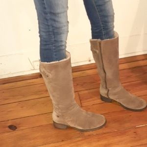 Suade UGG Riding Boots